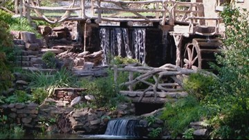 Old Mill closed for waterfall restoration