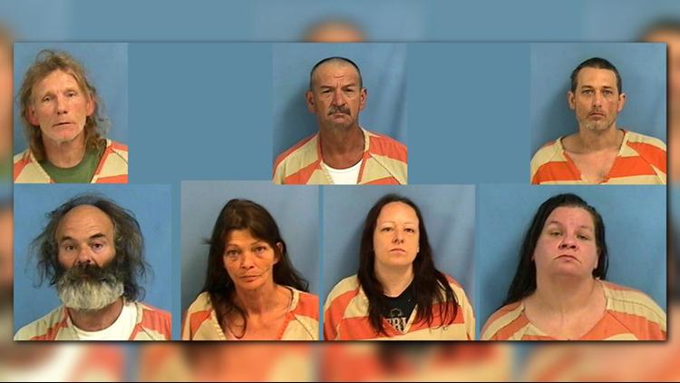 Bald Knob police arrest 7 in drug bust, announce warrants for 8 more