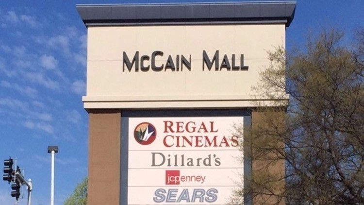 McCain Mall in North Little Rock has closed early Tuesday night after a fire was reported inside and then the mall lost power.