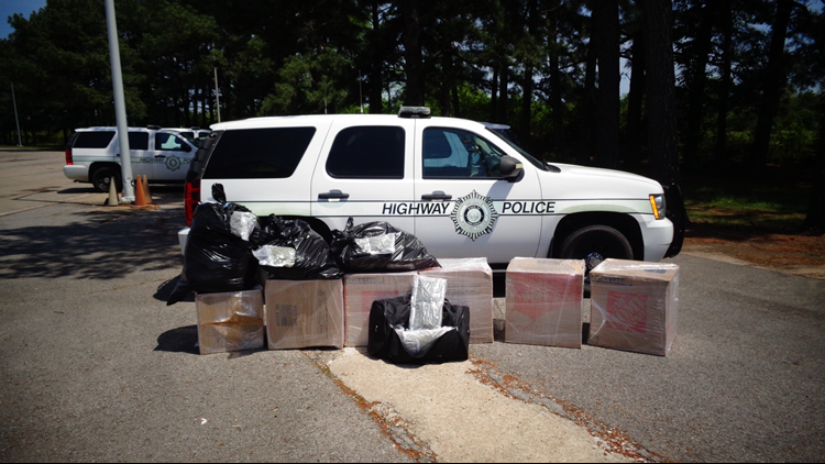 Arkansas Highway Police suspect hundreds of pounds of marijuana seized at a weigh station had likely been obtained legally in other parts of the country.