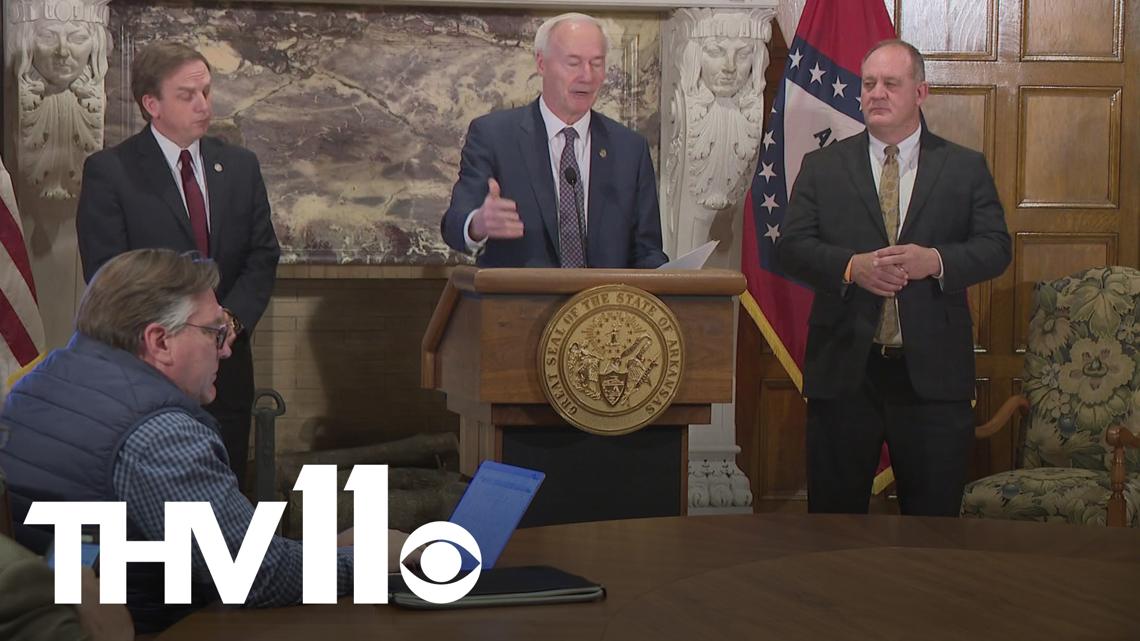 Arkansas Governor Asa Hutchinson vetoes Senate Bill 298