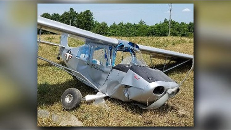 The pilot crashed shortly after take-off from the Silver Springs Aviation airstrip.