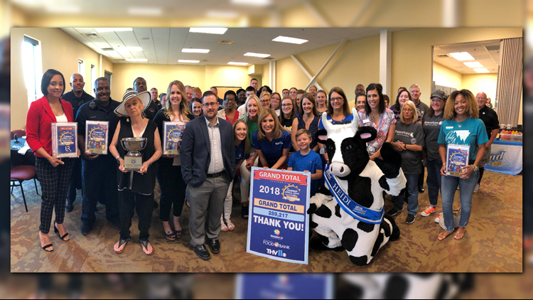 'Thank you, Arkansas!' | That's a wrap for the 2018 THV11 Summer Cereal Drive