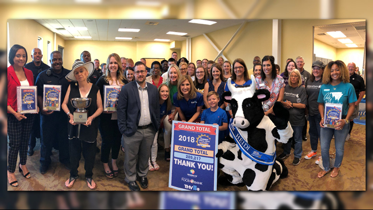 PHOTOS | Wrapping up the 2018 THV11 Summer Cereal Drive