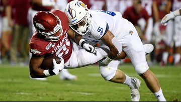 Hogs come off of esteemed win with disappointing loss to San Jose State