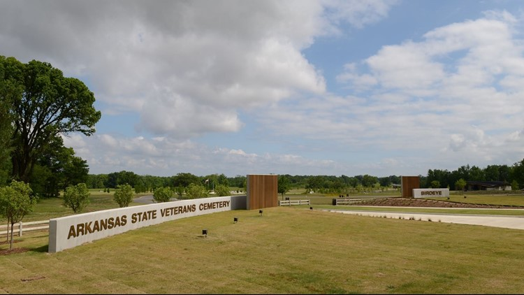 The cemetery provides a final resting place of honor for Arkansas veterans and their eligible dependents.