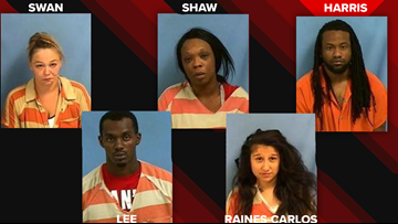 Multiple rape & kidnapping cases reported in Searcy, 5 people facing charges