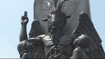 Sen. Rapert says 'very cold day in hell' before Baphomet statue allowed on capitol grounds