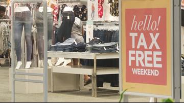 Arkansans are enjoying the Tax-Free Holiday weekend at McCain Mall