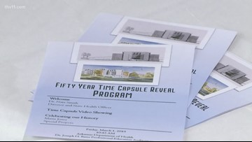 ADH opens 50-year-old time capsule today