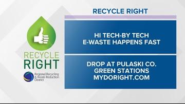Recycle Right Tips   Week Twenty-nine