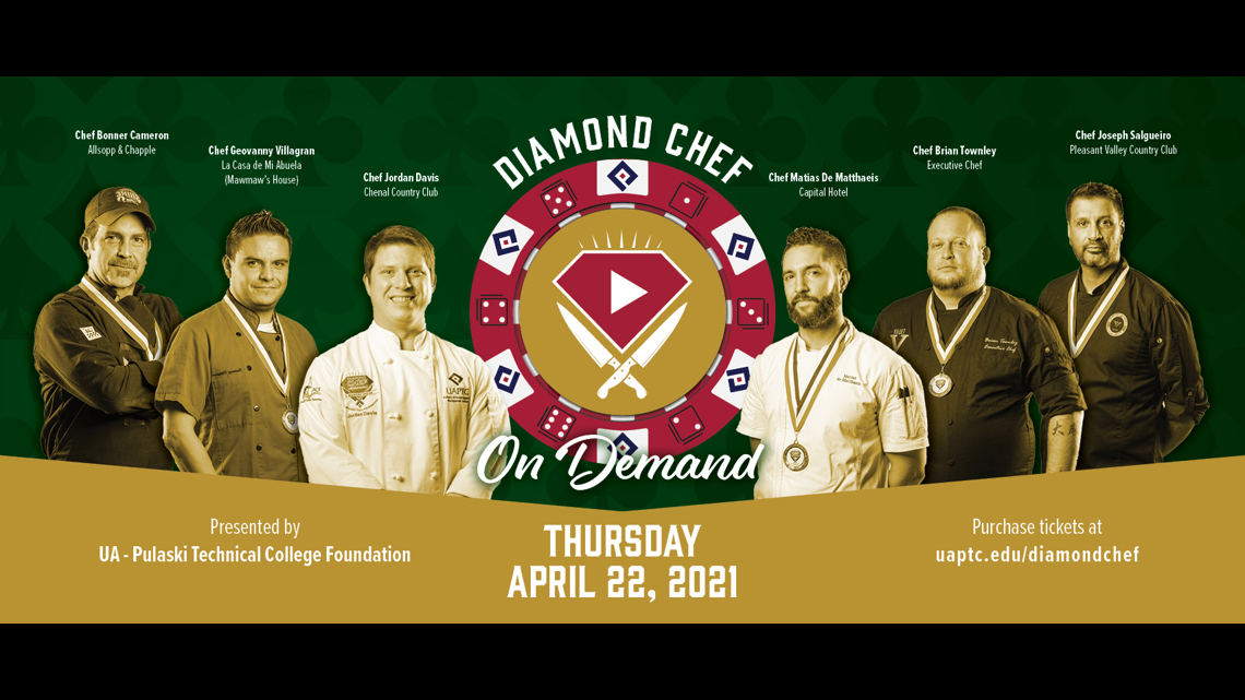 13th annual cooking competition goes virtual for 'Diamond Chef: On Demand'