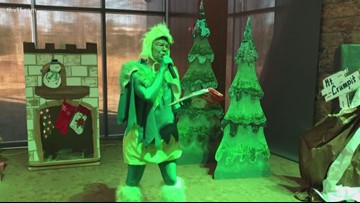 Craig O'Neill spreads holiday cheer as Grinch Monday morning