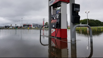 Record amounts of rain brings floods to central Arkansas