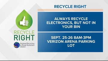 Recycle Right Tips   Week Thirty