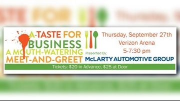 A Taste for Business' networking event kicks off Thursday at