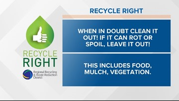 Recycle Right Tips   Week Thirty-one