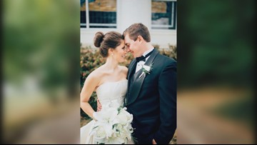 Woman finds lump in breast, has double mastectomy month before her wedding