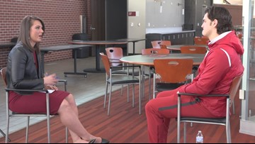 One-on-one with Ben Hicks, the new transfer quarterback for the Hogs