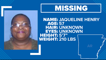 Little Rock police need help locating missing 57-year-old homeless woman