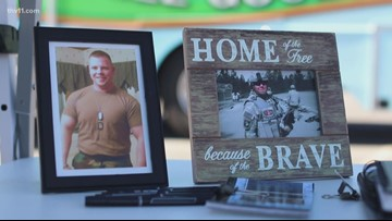 Blood drive honoring fallen soldier