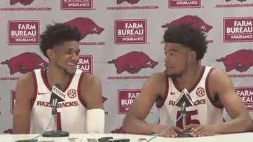 Mason Jones and Isaiah Joe recap 91-43 win over Rice
