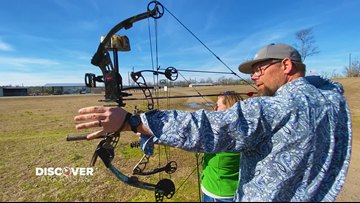 Camp Robinson SUA is  great location to sharpen your archery skills