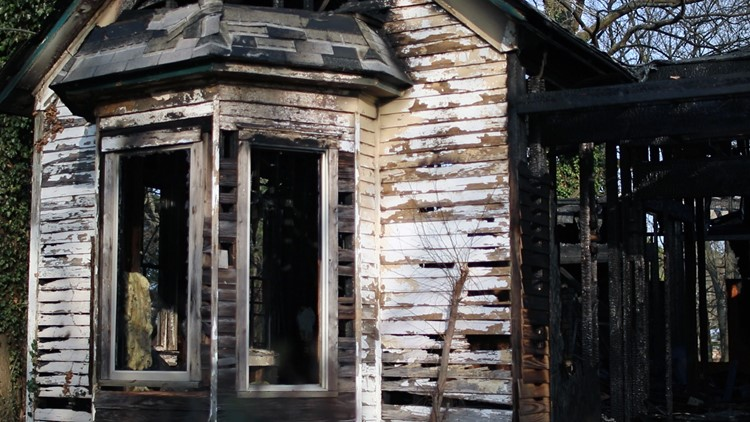 Two more vacant historic homes burn down, local group fights for changes