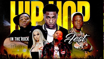 NBA Young Boy to headline 'Hip Hop In The Rock Fest' in April
