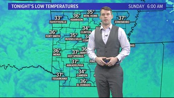 Morning weather forecast March 16