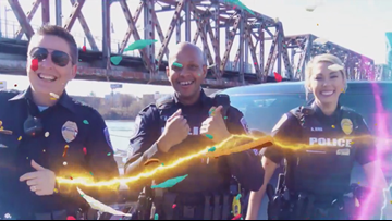 North Little Rock police dance, dance, dance their way to the 2019 Public Safety Awards Luncheon