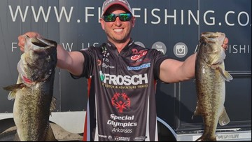 Fishin' for a livin' | Arkansas pro angler shares stories on success, struggles