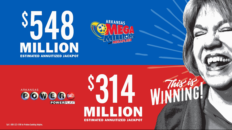 The Mega Millions jackpot is now the third highest in the game's history at $548 million, and Powerball is not far behind at $314 million.