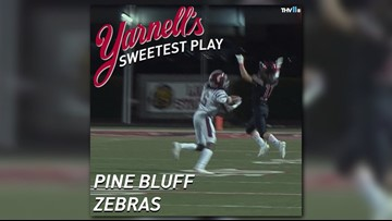 Pine Bluff Zebras win Yarnell's Sweetest Play of the Week for week 7