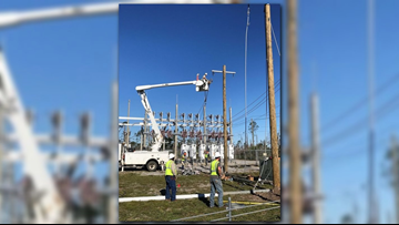 Ark  linemen continue work in Florida, Georgia to assist