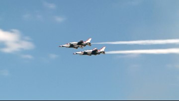 Jacksonville prepares for a busy city during this weekend's Thunder Over the Rock airshow