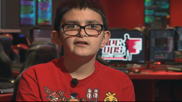 13-year-old boy isn't playing games with his life, he's looking for a forever family