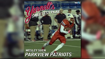 Parkview Patriots win Yarnell's Sweetest Play of the Week for week 9