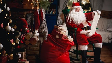 Santa is coming to town! He's set to stop by the McCain Mall this holiday season!