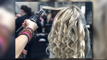 Salon Professional Academy raises money for former student battling cancer