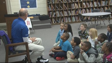 Craig visits the Hogwarts of central Arkansas, where students share the magic of reading