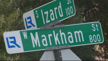 Do you know who Izard Street in Little Rock is named after?