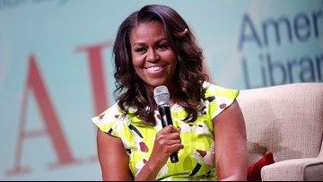 Trump administration rolls back school lunch standards championed by Michelle Obama