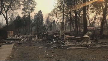 'I just feel blessed we made it safely:' Arkansas native loses home in California fire