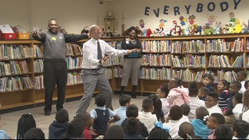 Craig joins in on the biggest reading day for Little Rock students