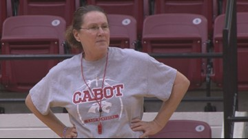 Cabot coaching legend honored at final home game after 38 years of success