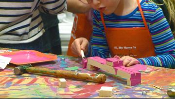 Lubavitch of Arkansas and Home Depot hosts pre-Chanukah Menorah Workshop for children