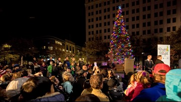 Downtown LR Partnership to host 'Bright the Night' with Christmas tree lighting ceremony