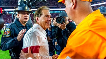 Saban Keeps Attention on Lowly Foe, Something Morris Could Try