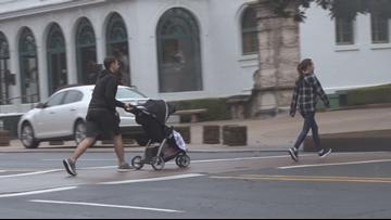 Christmas season brings crosswalk crackdown in Hot Springs after hit and run